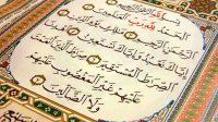 keajaiban surat al fatihah