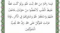 surat ali imran ayat 159 terjemah per kata