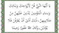 surat al ahzab ayat 59 terjemah per kata