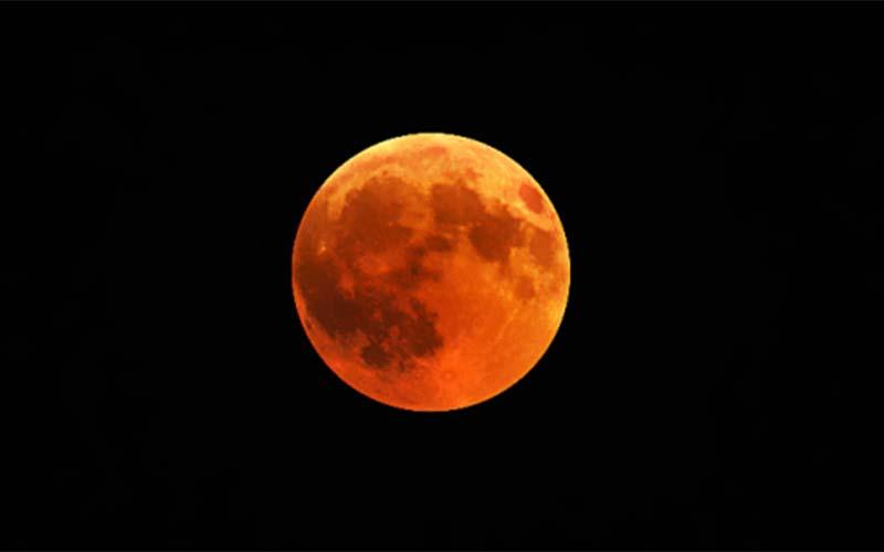sunnah gerhana bulan